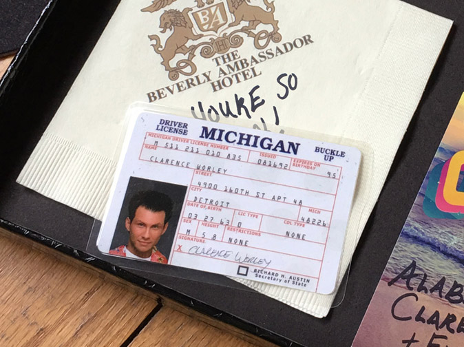 true romance clarence license