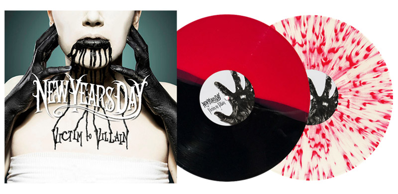 new years day victim to villain vinyl