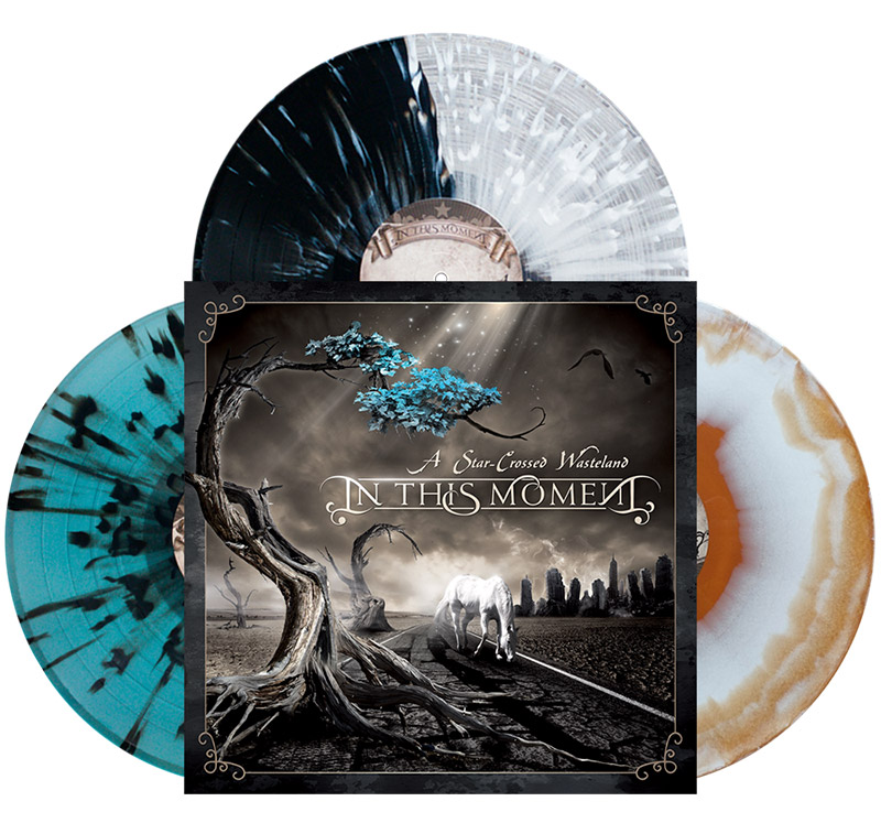 in this moment starcrossed wasteland vinyl
