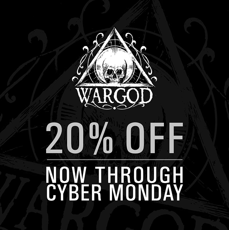 wargod black friday sale 2017