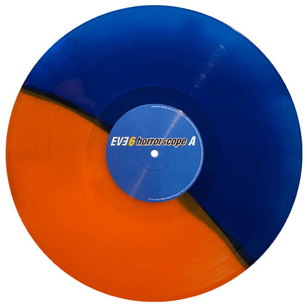 eve 6 horrorscope blue orange split vinyl
