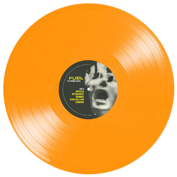 fuel sunburn orange vinyl