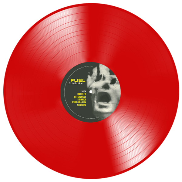 fuel sunburn red vinyl