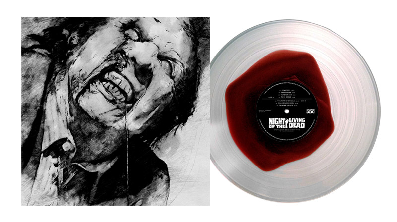 night of the living dead soundtrack vinyl blood pool