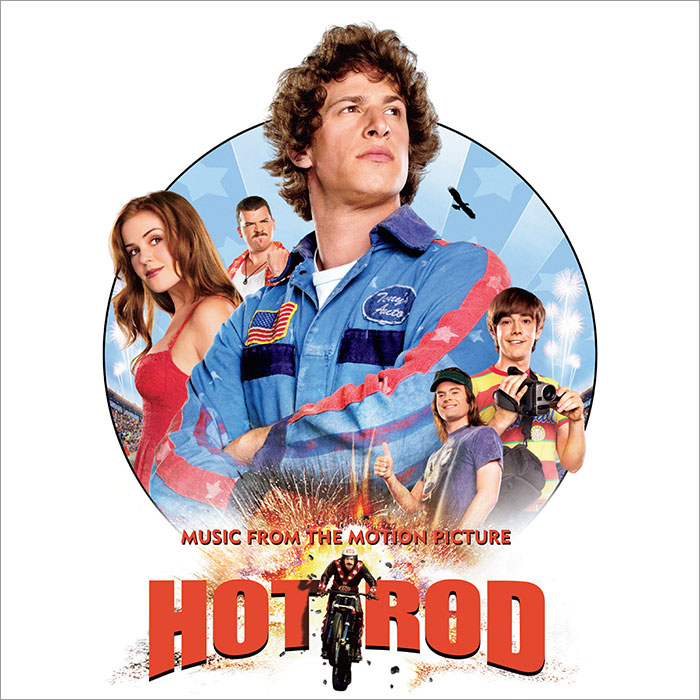 hot rod ost vinyl cover art