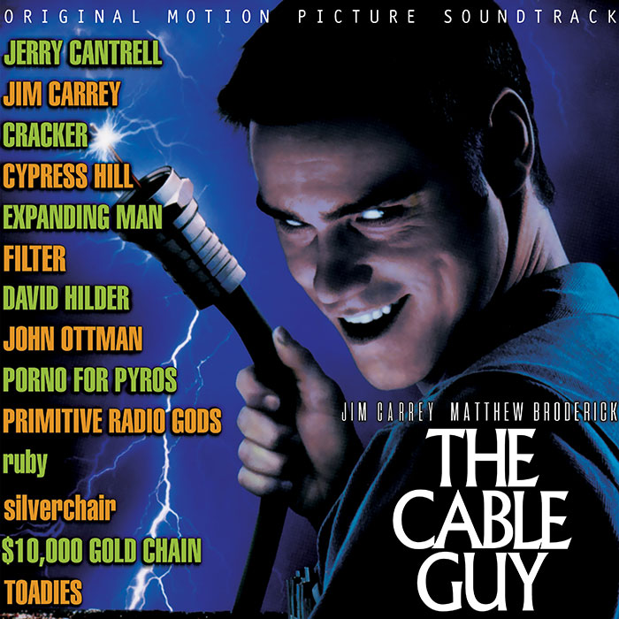 the cable guy ost vinyl cover art