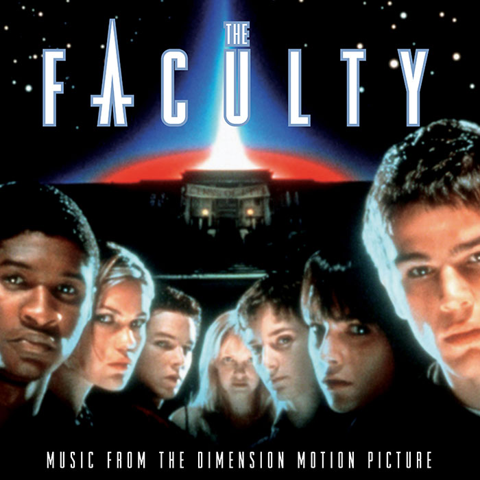 the faculty ost vinyl cover art