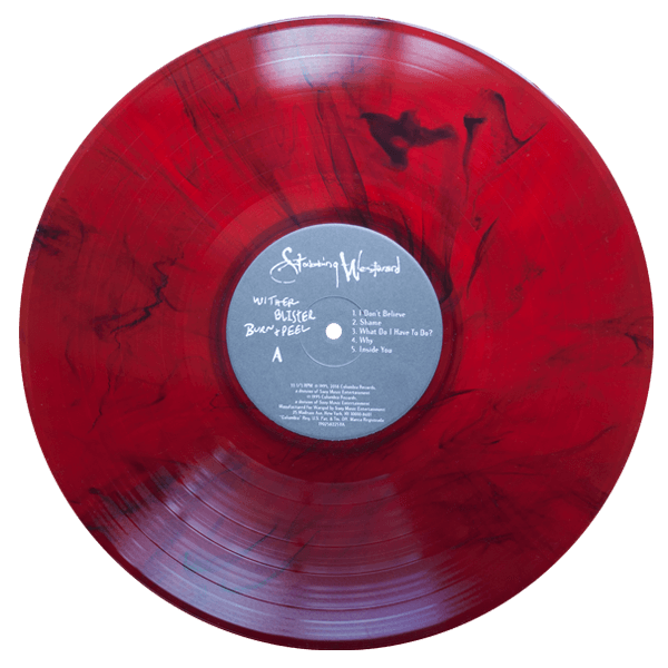 stabbing westward wither blister burn peel red smoke vinyl