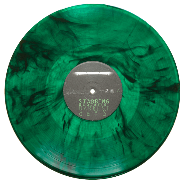 stabbing westward darkest days green smoke vinyl