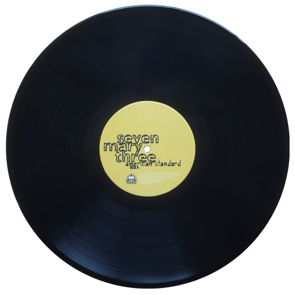 seven mary three american standard black vinyl