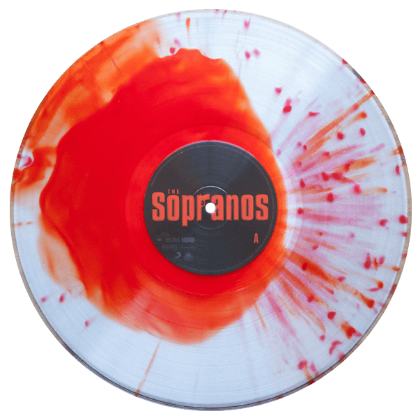 the sopranos peppers & eggs soundtrack blood splatter vinyl