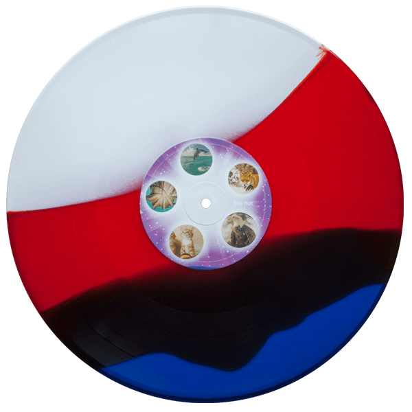 hot rod soundtrack red white blue striped vinyl